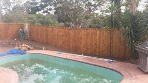 Wooden fence by Fencing by SKM